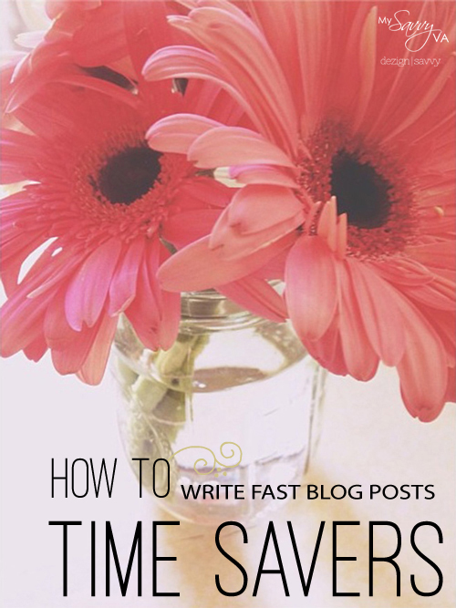How to Write FAST Blog Posts – 3