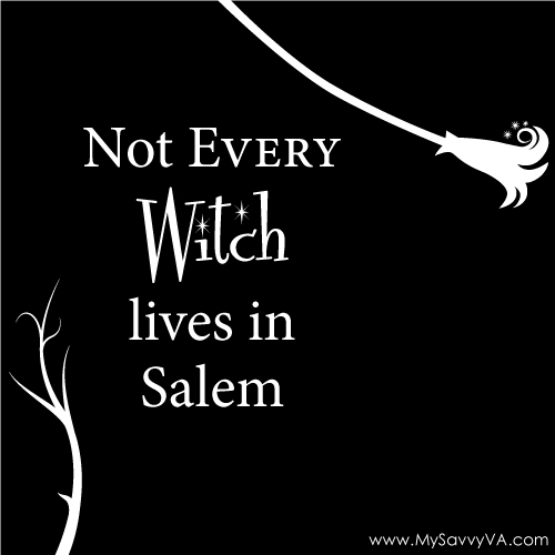 Not Every Witch Lives in Salem